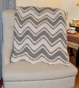 Chic Chevron Throw