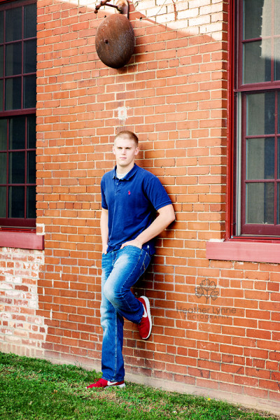 Brick Accent Senior Photo
