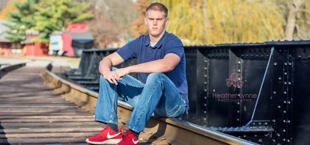 Train Track Senior Photo