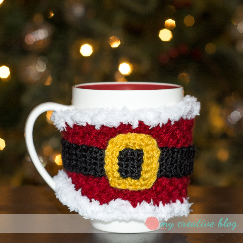 Santa Baby Mug Cozy Crochet Pattern My Creative Blog