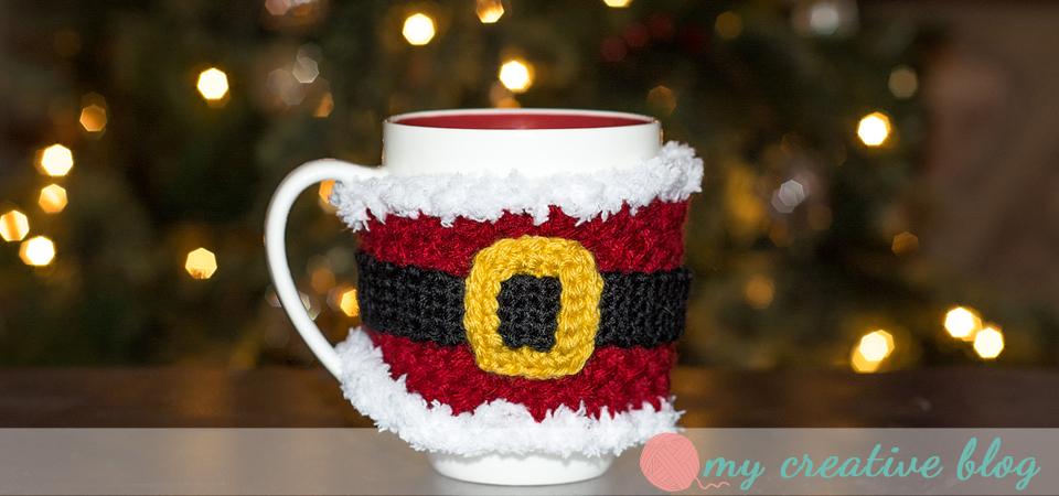 """Santa Baby"" Mug Cozy"