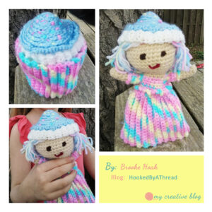 Brooke Hoak Cupcake Doll