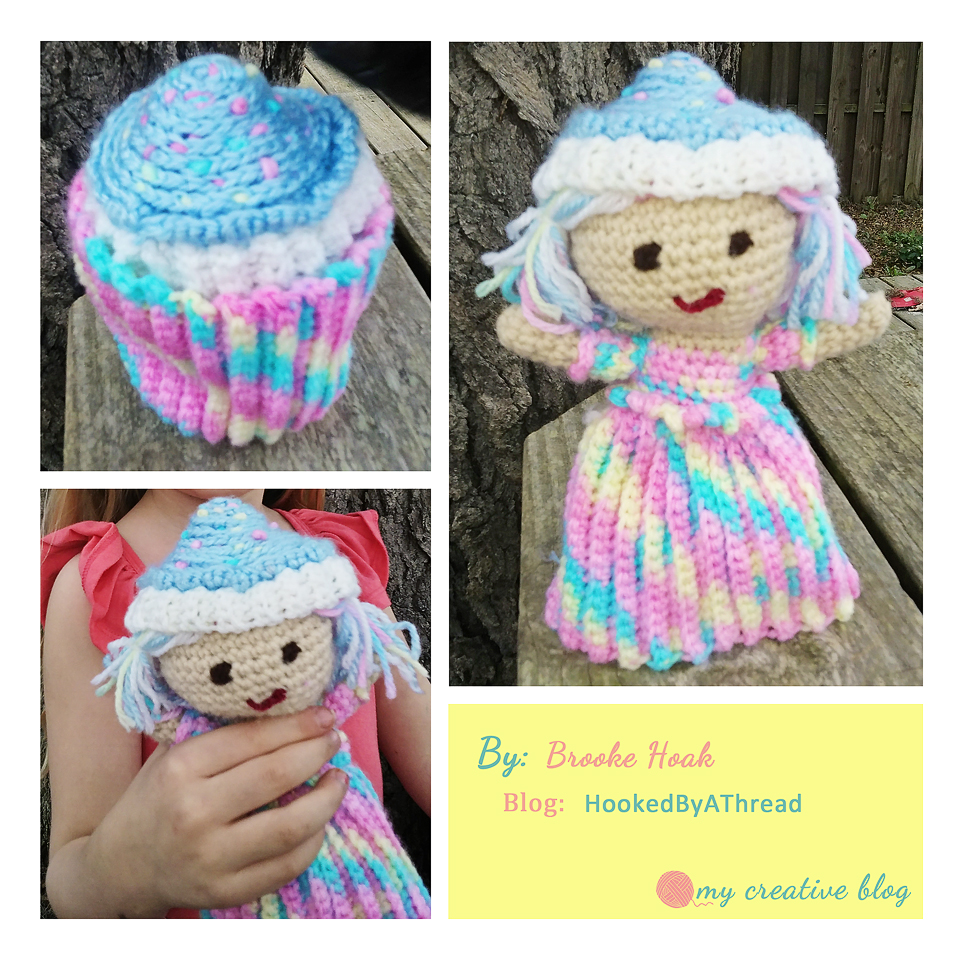 Knitting Pattern For Dammit Doll : Cupcake Doll   Crochet Pattern   My Creative Blog