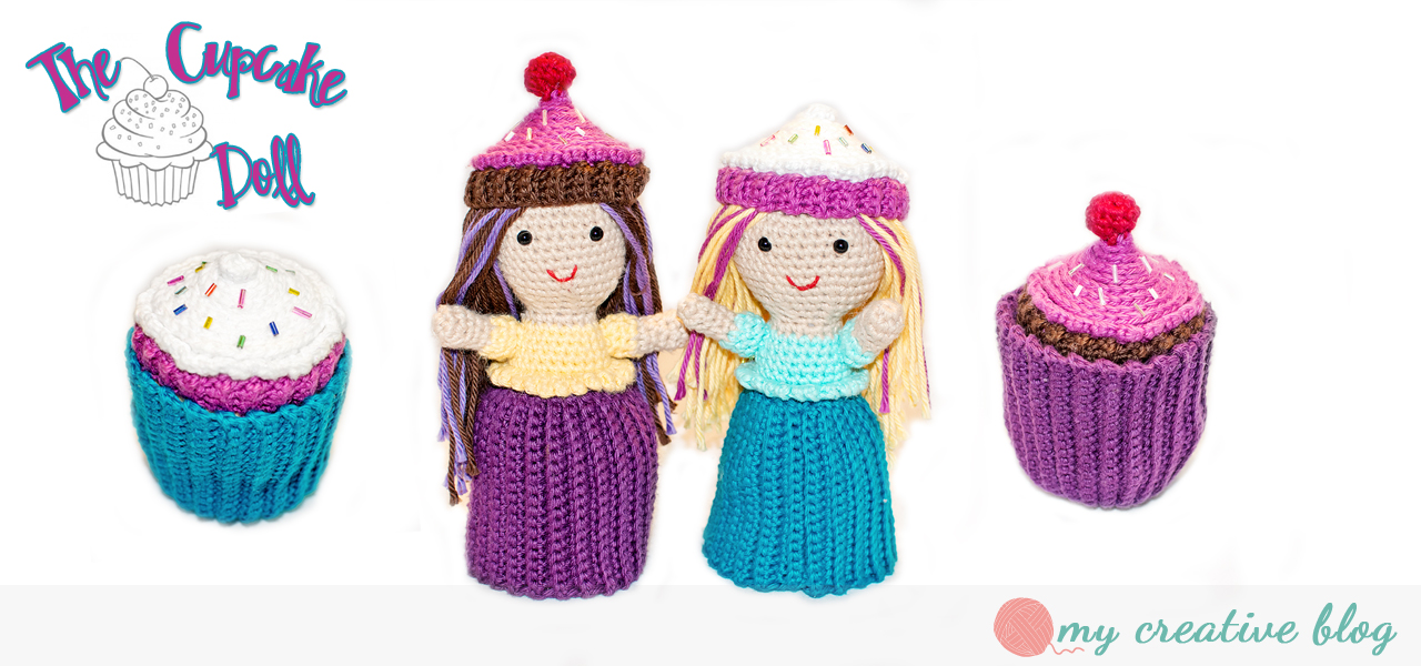 Cupcake Doll Crochet Pattern