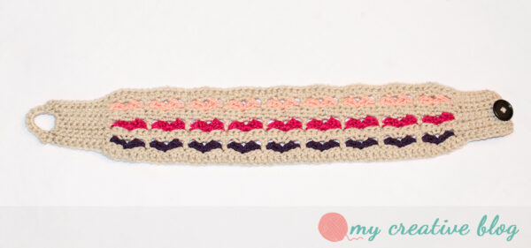 Sweetheart Earwarmer Crochet Pattern