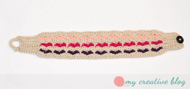 Sweetheart Earwarmer Crochet Pattern