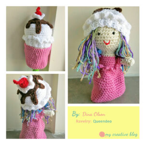 Dina Olson - Ice Cream Sundae Doll