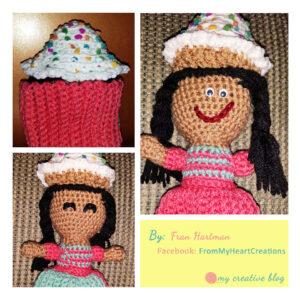 Fran Hartman Cupcake Doll