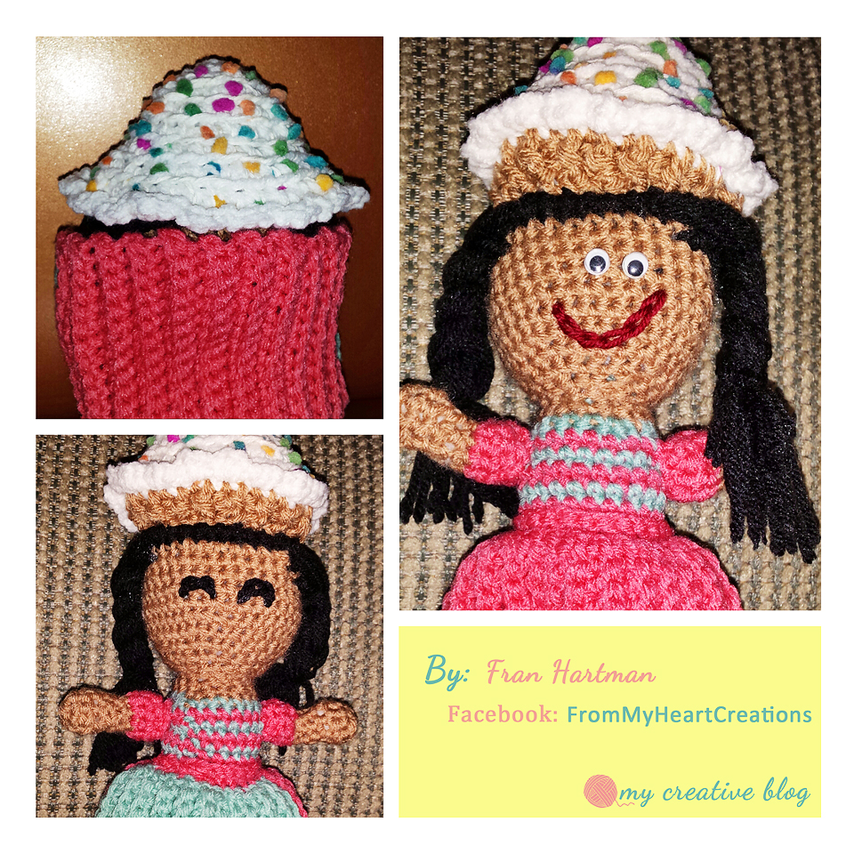 Crochet Cupcake Doll Pattern : Cupcake Doll Crochet Pattern My Creative Blog
