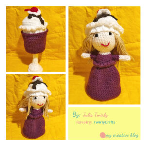 Julia Twirly - Ice Cream Sundae Doll