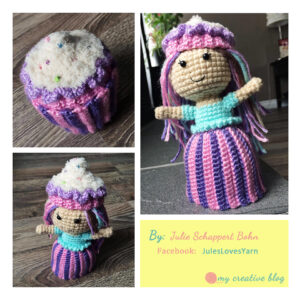 Julie Schappert Cupcake Doll