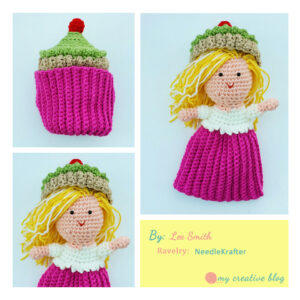 Lee Smith Cupcake Doll