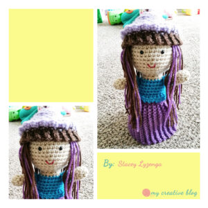 Stacey Lyzenga Cupcake Doll