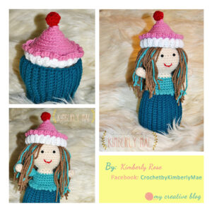 Kimberly Rose Cupcake Doll