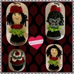 Berta Cohen - Garden Fairy Flower Pot Doll