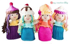 Crochet Cupcake and Ice Cream Sundae Dolls
