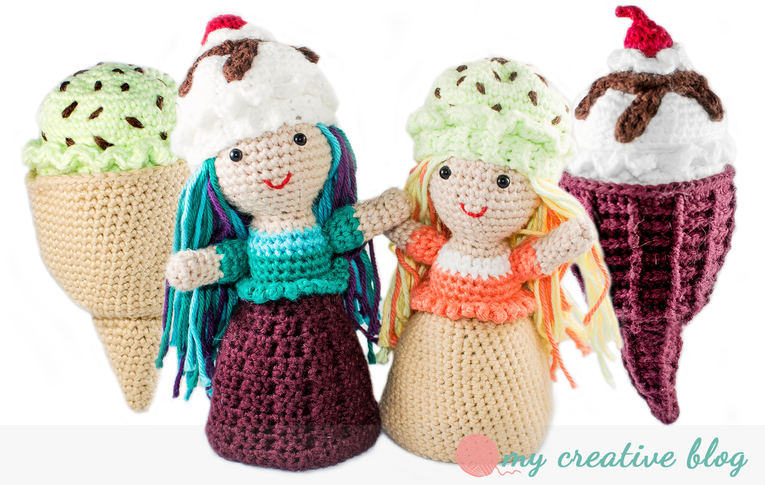 Ice cream cone doll crochet pattern my creative blog ice cream cone doll crochet pattern dt1010fo