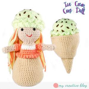 Ice Cream Cone Doll - Basic Cone