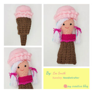 Lee Smith - Ice Cream Cone Doll