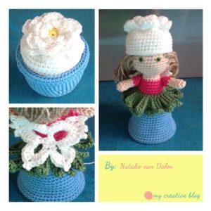 Natalie van Dalen - Garden Fairy Flower Pot Doll
