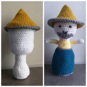 Dina Olson - Garden Gnome Toadstool Doll