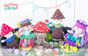 Fairy Garden Doll Collection - Crochet Pattern