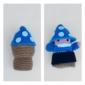 Lee Smith - Pocket Gnome Toadstool Doll