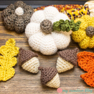 Amigurumi Acorn Free Crochet Pattern