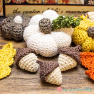 Amigurumi Acorn Crochet Pattern