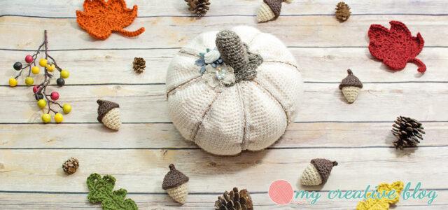 Vintage Crochet Pumpkin Pattern