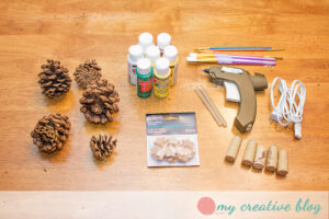 Pinecone Tree Craft Supplies