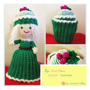 Dina Olson -Peppermint Swirl Cupcake Doll