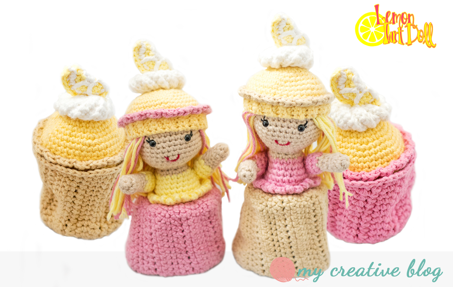 Lemon tart cupcake doll crochet pattern my creative blog lemon tart doll crochet pattern dt1010fo