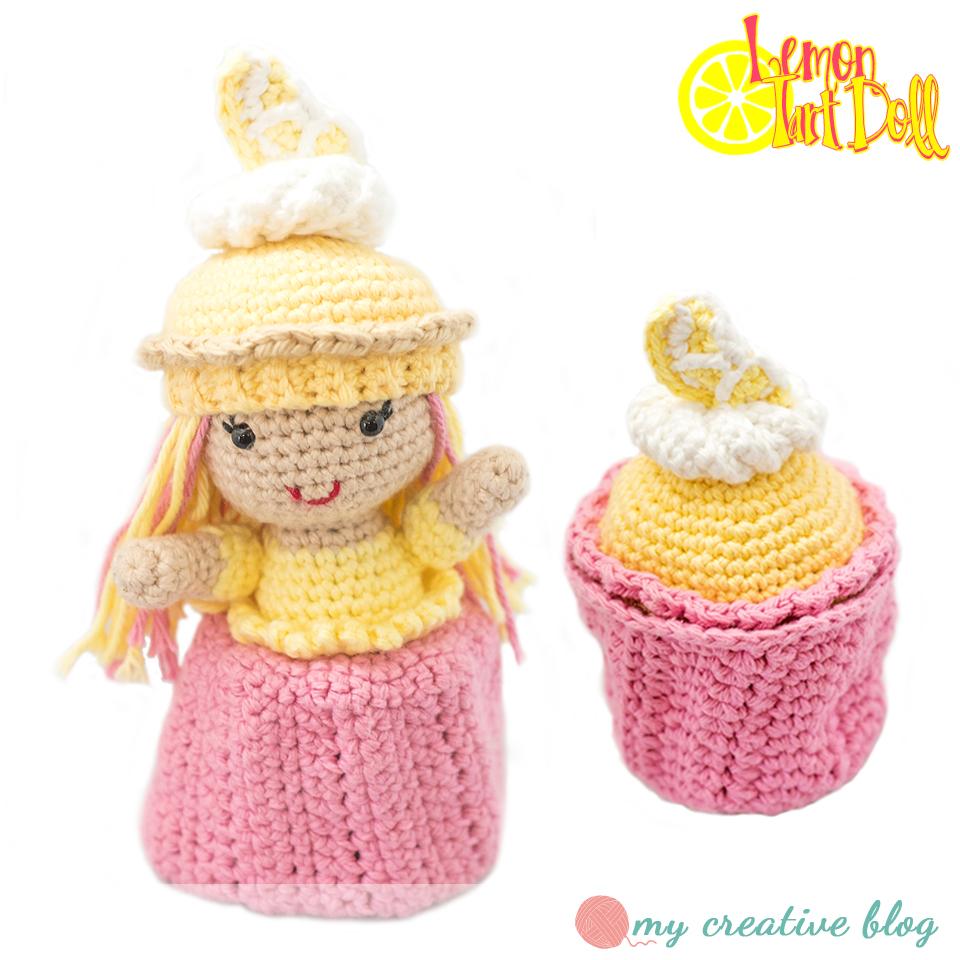 Lemon Tart Cupcake Doll Crochet Pattern My Creative Blog