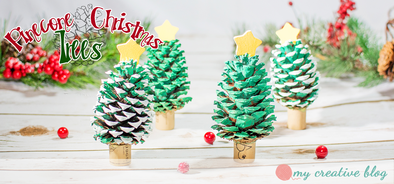 Pine Cone Christmas Tree Craft.Pinecone Christmas Trees Craft Project My Creative Blog