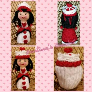Berta Cohen -Queen of Hearts Cupcake Doll