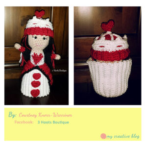 Courtney Knorr-Warriner - Queen of Hearts Cupcake Doll