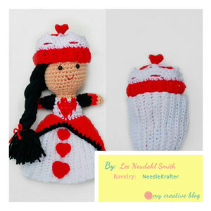 Lee Neudahl Smith - Queen of Hearts Cupcake Doll
