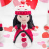 Queen of Hearts Cupcake Doll Crochet Pattern
