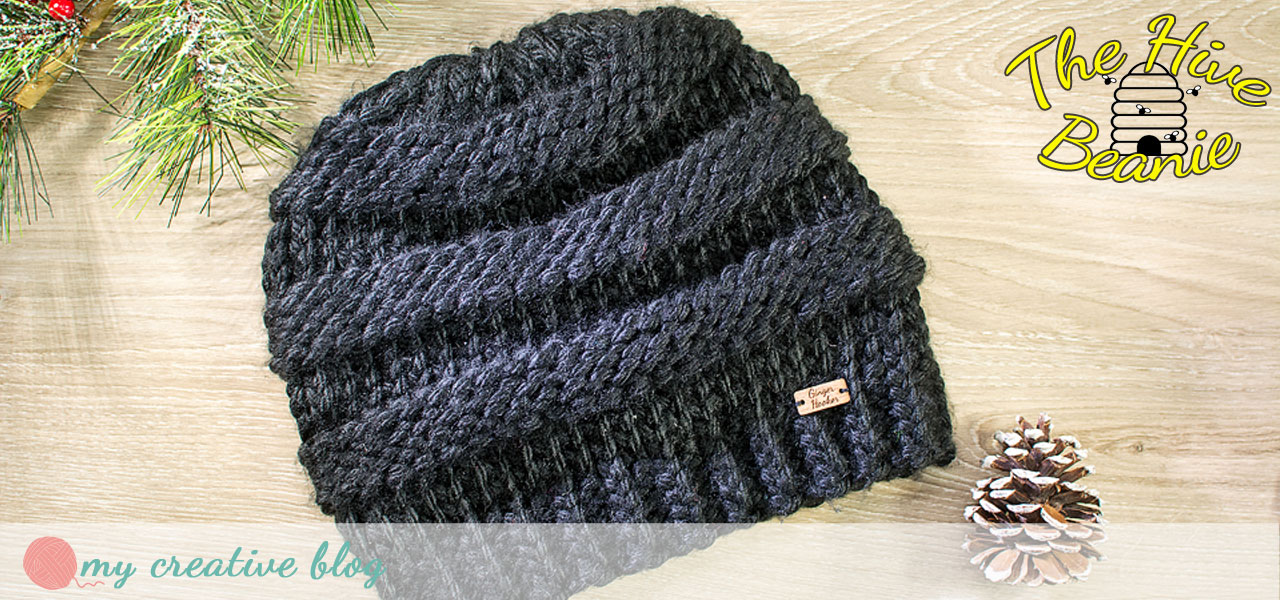 The Hive Beanie - Free Knit Pattern