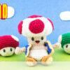 Super Mario Bros. Toad - Free Crochet Pattern