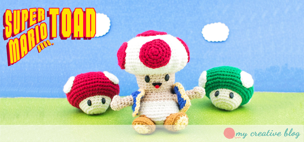 Super Mario Bros Toad Crochet Pattern My Creative Blog