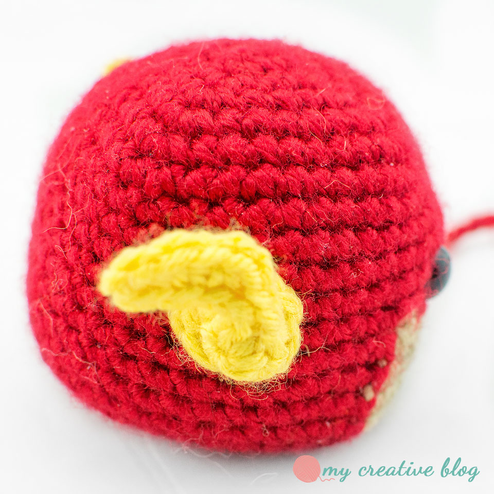Toy Art The Flash – Geek Crochet by Crochelandia | 960x960