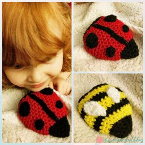 Dina Olson - Ladybug & Bumblebee Flippy