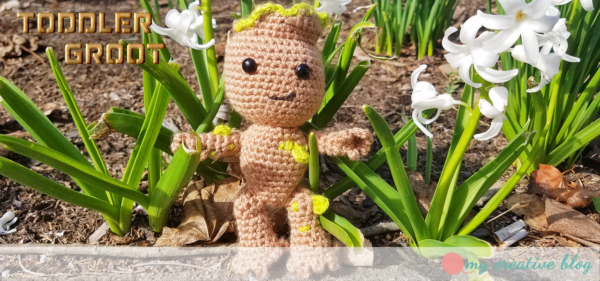 Toddler Groot - Crochet Pattern