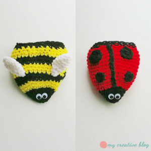 Lee Neudahl Smith - Ladybug & Bumblebee Flippy
