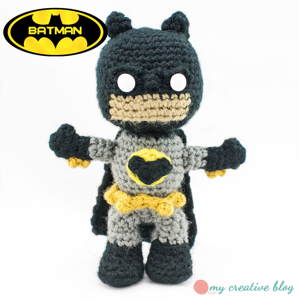Batman Crochet Pattern