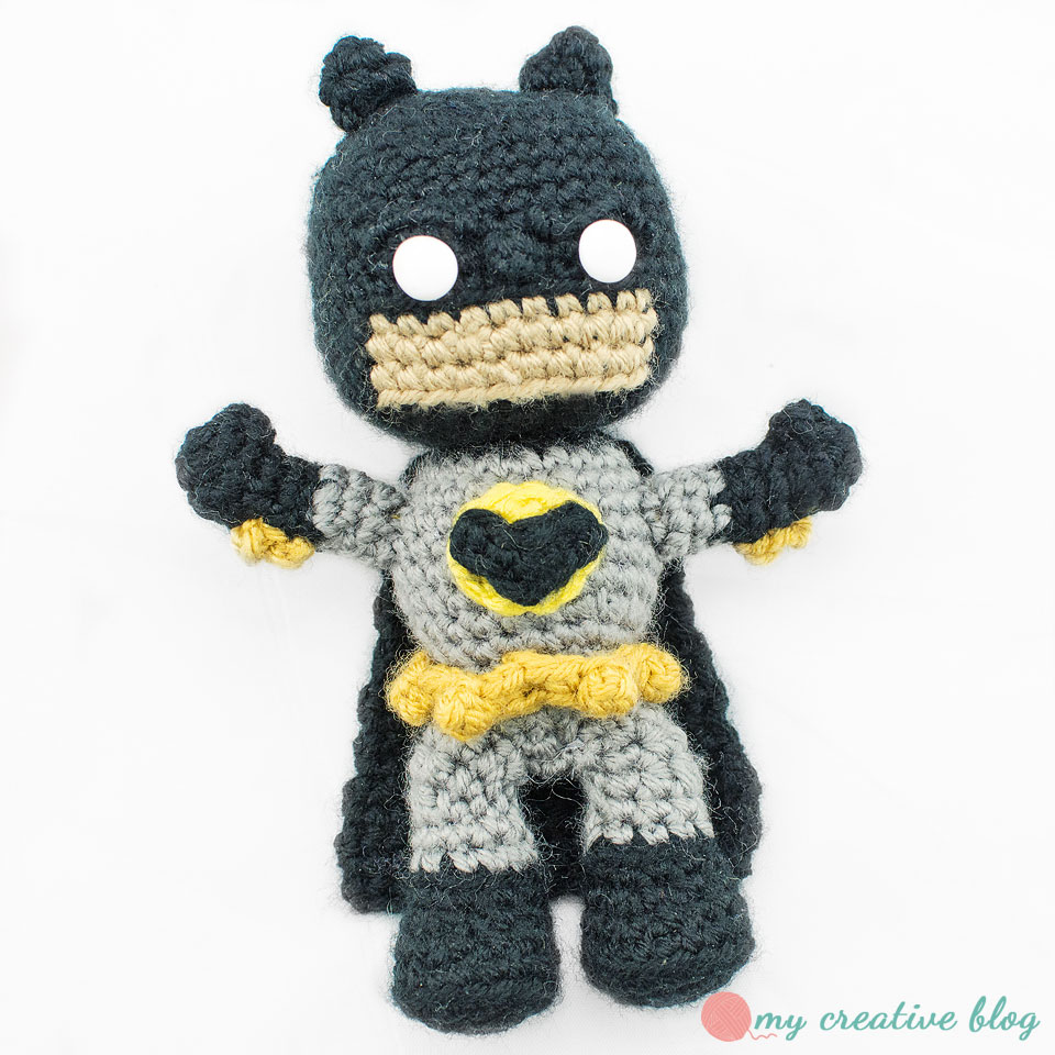 The Justice League: Batman – Crochet Pattern – My Creative Blog