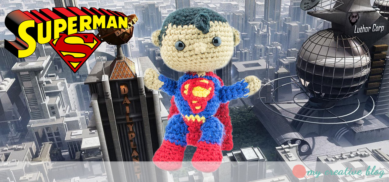 The Justice League: Superman - Crochet Pattern