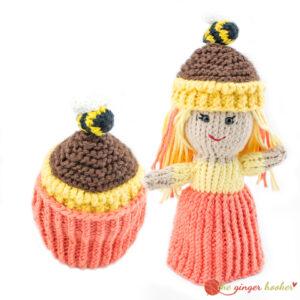 Cupcake Topsy-Turvy Doll - Knit Pattern